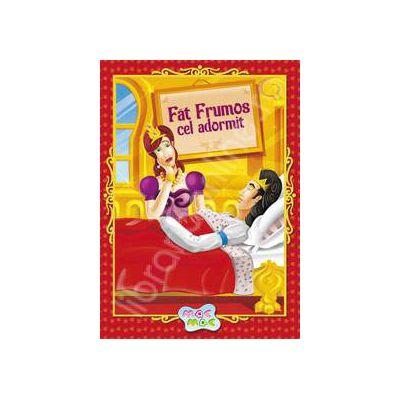 Carte de colorat cu audio book. Fat Frumos cel Adormit