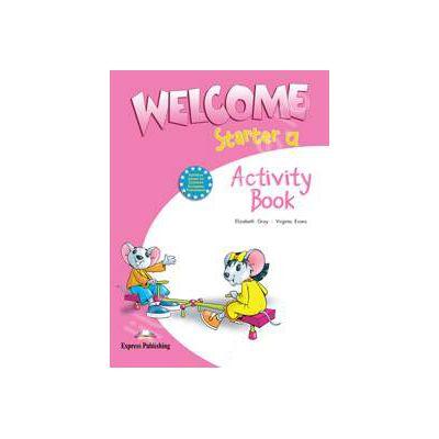 Welcome starter A (AB), caietul elevului clasa I. Curs de limba engleza welcome starter AB