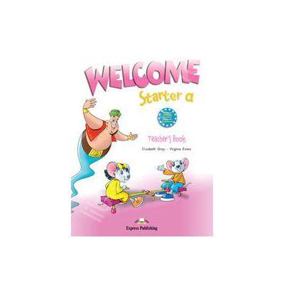 Welcome starter A (TB), manual profesorului. Curs de limba engleza welcome starter TB