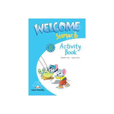 Welcome starter B (AB), caietul elevului clasa a II-a. Curs de limba engleza welcome starter B (AB)