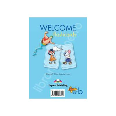 Welcome starter B flashcards. Curs de limba engleza welcome starter B