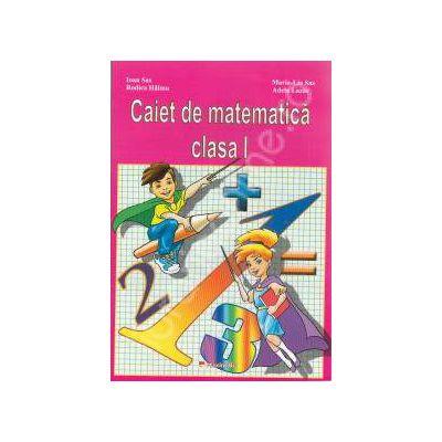 Caiet de matematica clasa I