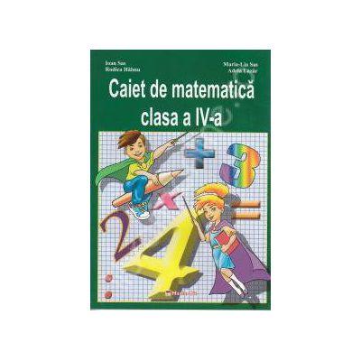 Caiet de matematica clasa a IV-a