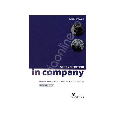 In Company Second Edition Upper Intermediate CEF level B2-C1. Student's Book with CD-rom