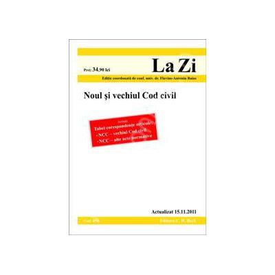 Noul si vechiul cod civil (actualizat 15.11.2011)