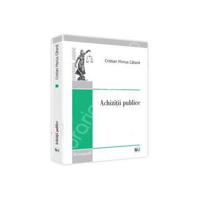 Achizitii publice (Monografii)