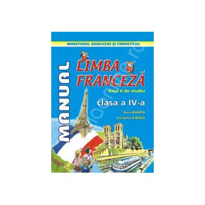 Limba Franceza anul II de studiu manual pentru clasa a IV-a
