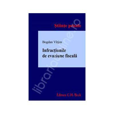 Infractiunile de evaziune fiscala