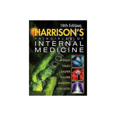 Harrison's Principles of Internal Medicine 18 th Edition (Two volumes)