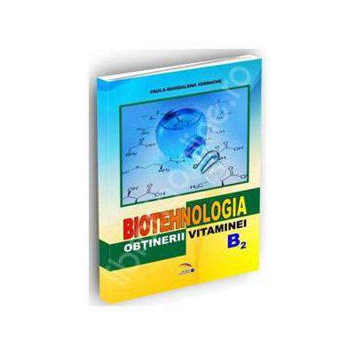 Biotehnologia obtinerii vitaminei B2