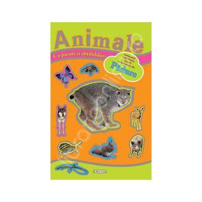 Animale din padure -jocuri si abtibilduri