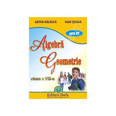 Algebra si Geometrie pentru clasa a VIII-a (Auxiliar)