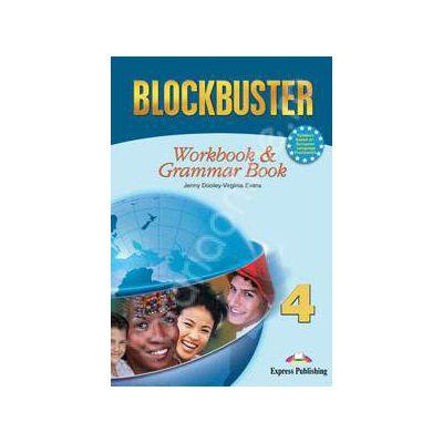 Blockbuster 4 Workbook and Grammar. Caiet pentru clasa a VIII-a de limba engleza Blockbuster 4