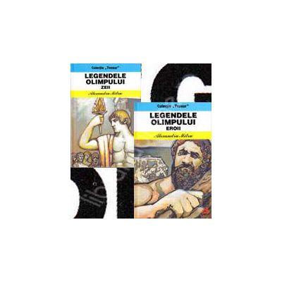 Colectia ,,Tezaur'Legendele Olimpului in 2 volume. Eroii si Zeii