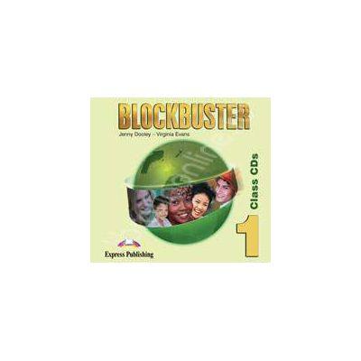 Curs de limba engleza Blockbuster 1 Class CD (Set 4 cd-urii)