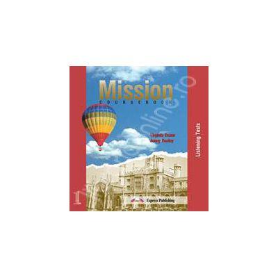 Curs de limba engleza Mission 1. CD (Set 3 cd-uri) - Componenta audio pentru manualul Mission 1