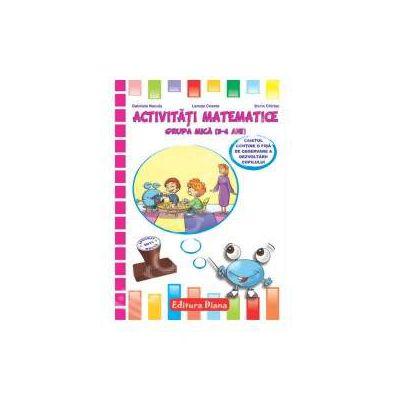 Activitati matematice grupa mica (3-4 ani)