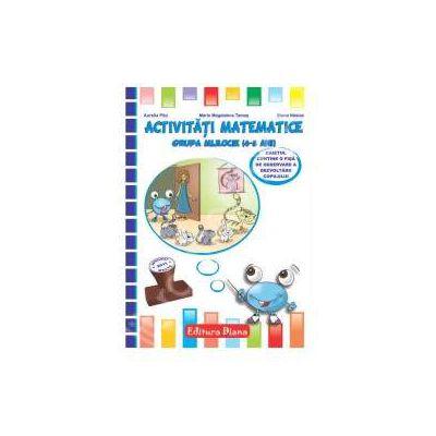 Activitati matematice grupa mijlocie (4-5 ani)