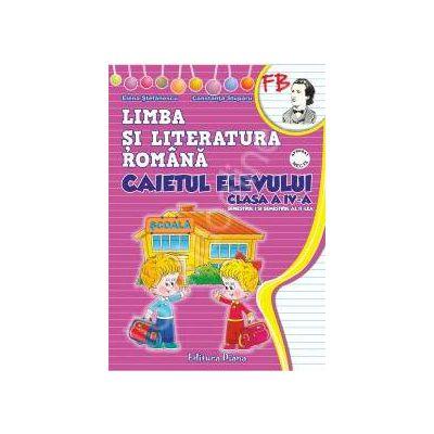 Caietul elevului clasa a IV-a limba si literatura romana (semestrul I+II)- manualul editurii Aramis (autor Pitila)