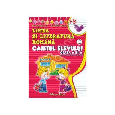 Caietul elevului clasa  I limba si literatura romana (semestrul I+II) - dupa manualul editurii M.P, autor Penes