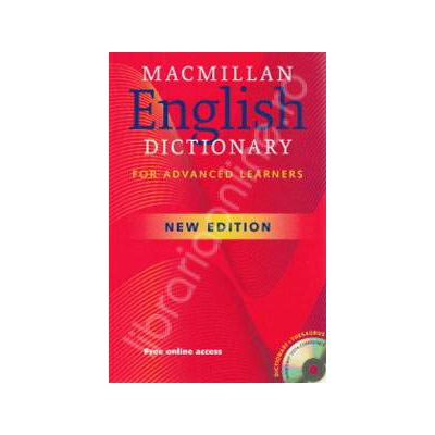 Macmillan English Dictionary (For Advanced Learners) with CD - New edition