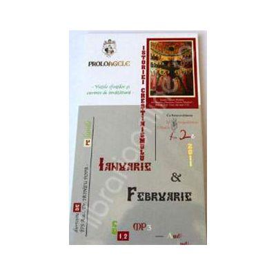 CD Audiobook - Proloagele istoriei crestinismului Ianuarie si Februarie (2 CD-uri, MP3)
