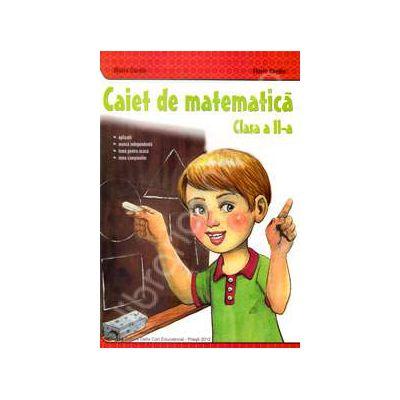 Caiet de matematica clasa II (Maria Gardin)
