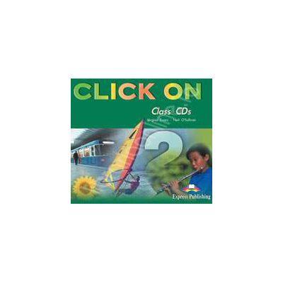 Curs de limba engleza Click On 2. Class audio CD (Set 3 CD)