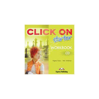 Curs de limba engleza Click On Starter. CD pentru caietul elevului