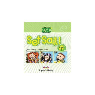 Curs pentru limba engleza Set Sail 4. DVD (Special primary 4 edition)
