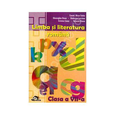 Limba si literatura romana clasa a VII-a. Culegere