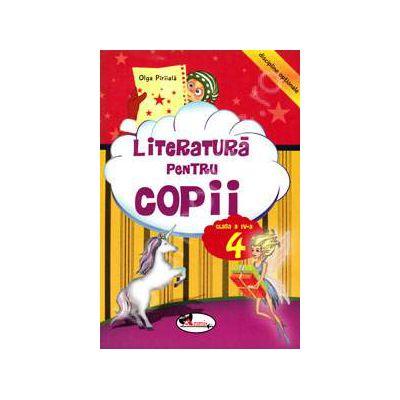 Literatura pentru copii, clasa a IV-a (Disciplina optionala)