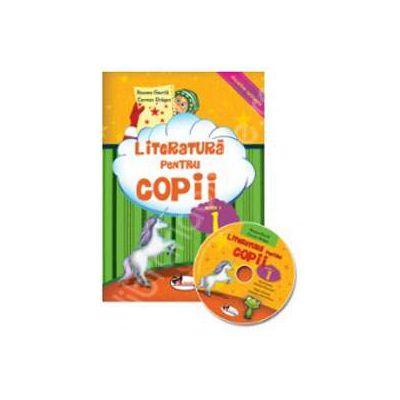 Literatura pentru copii clasa a I-a. Carte+CD (Disciplina optionala)