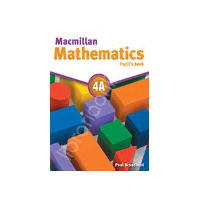 Macmillan Mathematics 4A Pupil's Book - with CD-ROM