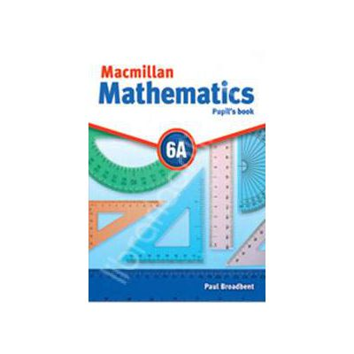 Macmillan Mathematics 6A Pupil's Book - with CD-ROM