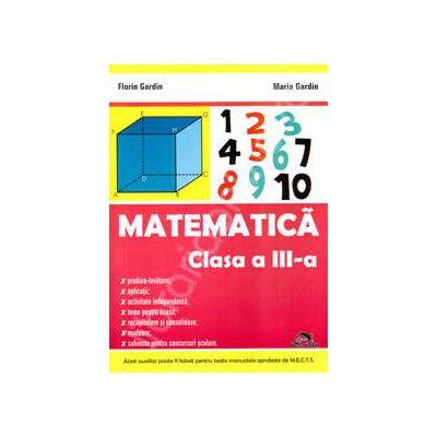 Matematica culegere pentru clasa a III-a (Editie 2011)