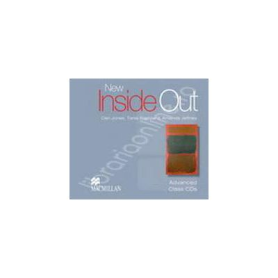 New Inside Out Advanced Class Audio CDs (3)