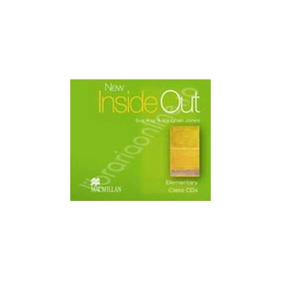 New Inside Out Elementary Class Audio CDs (2) (Class CD 1, CD 2)