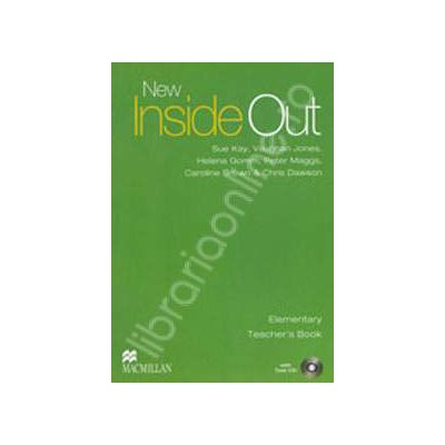 New Inside Out Elementary Teacher's Book with Test CD