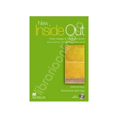 New Inside Out Elementary Workbook with Answer Key with Audio CD