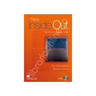 New Inside Out Pre-Intermediate Student's Book and CD-ROM