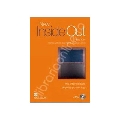 New Inside Out Pre-Intermediate Workbook with Answer Key and Audio CD