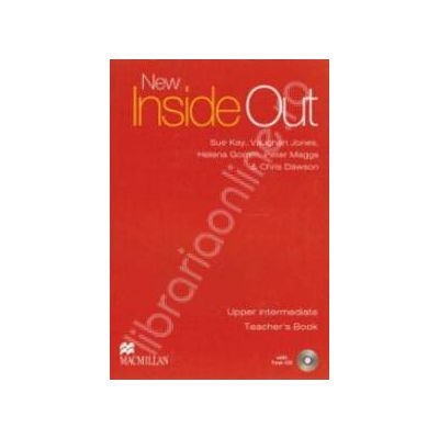 New Inside Out Upper Intermediate Teacher's Book with Test CD-ROM