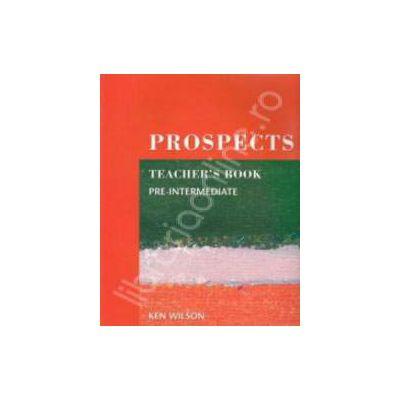 Prospects Pre Intermediate Teacher's Book