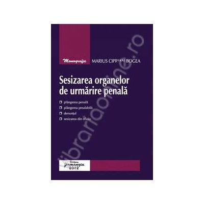 Sesizarea organelor de urmarire penala