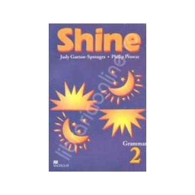 Shine Level 2 Grammar. Gramatica limbii engleze pentru clasa a VII-a