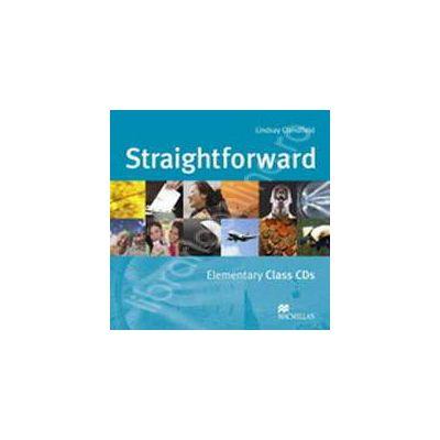 Straightforward Elementary Class CDs (Class CD 1, CD 2)