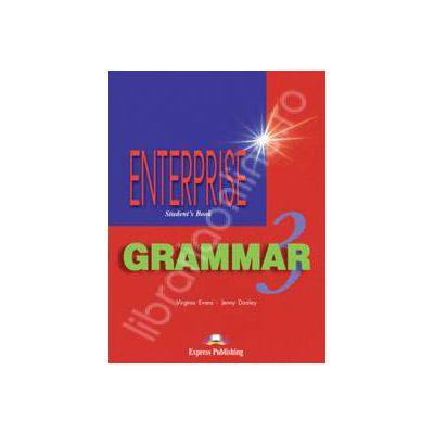 Carte de gramatica. Enterprise Grammar 3 (SB). Manualul elevului pentru clasa a VII-a