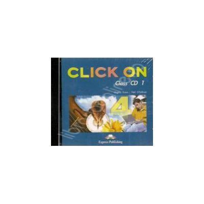 Curs de limba engleza Click On 4 (TAB). Class audio CD (Set 6 CD)