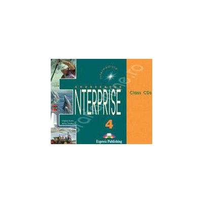Curs de limba engleza. Enterprise 4 Intermediate. Class audio CDs (Set 3 CD)